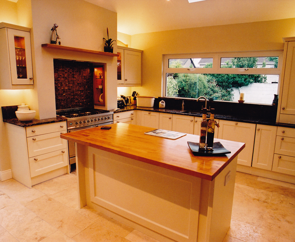 Traditional hand painted kitchens david barry furniture for Traditional painted kitchens